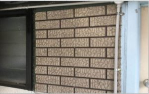 Cement Sheet – some fake brick cladding is known to contain asbestos