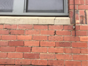 Stepped Cracking in Wall 300x225 - Stepped Cracking in Wall